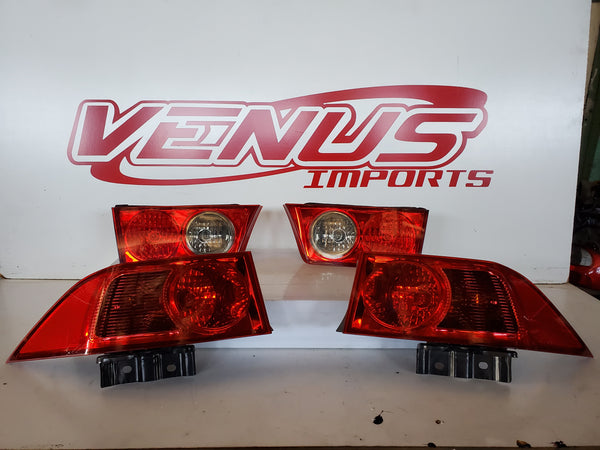 2004-2008 Acura tsx jdm Taillights CL7 CL9 TSX Honda Accord Euro R Tail lamp