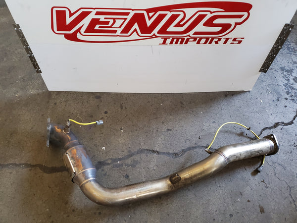 JDM SUBARU BL5 LEGACY XT 03-08 TWIN SCROLL DOWNPIPE AFTERMARKET SARD VF38 Turbo