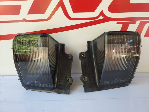 JDM Nissan Skyline R32 BNR32 GTS-T GTS GTR GT-R Rear Bumper License Plate Lamp Lights OEM