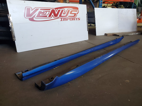 JDM OEM STI Side Skirts for 02-07 Subaru WRX Impreza GDB GDA GGA WRB Sedan V8 V9
