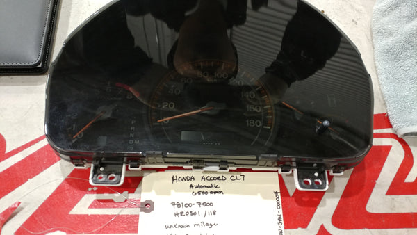 JDM HONDA Accord CL7 Gauge cluster speedometer 6.5K rpm