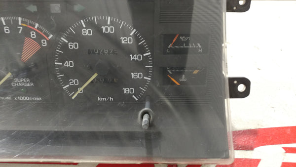 JDM Toyota AW11 MR2 84-89 Super Charged Gauge Cluster MK1 4AGZE 4A-GZE