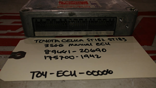 JDM 89-94 TOYOTA CELICA 3SGE Manual ECU