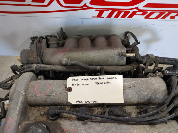 MAZDA MIATA MX-5 JDM/EURO BP5A  ENGINE MANUAL 1998 1999 2000