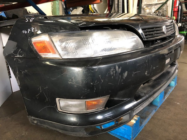 JDM 92-96 Toyota JZX90 Mark2 Markii Frontend Nose Cut Hood Fnders/Bmpr/Lights