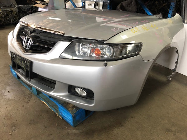 JDM 04 08 HONDA TSX ACCORD FRONT END CONVERSION JDM HONDA ACCORD NOSE CUT CL7