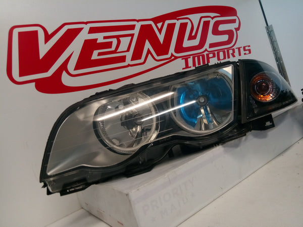 BMW 325 HEADLIGHT RIGHT PASSENGER 2002 2003 2004 2005 3 SERIES 328 OEM non HID sale