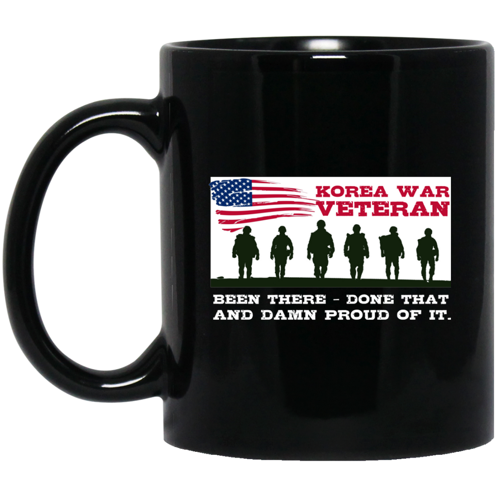 Veteran Mug Korean War Veteran Proud US Army Veteran