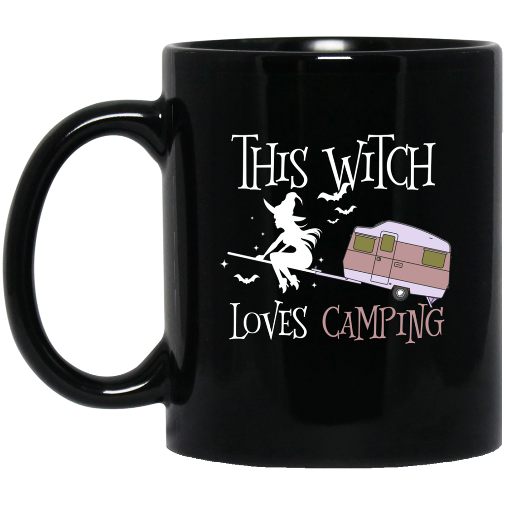 This Witch Love Camping Camping Halloween Mug