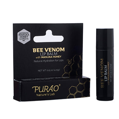 PURAO Bee Venom Lip Balm Stick 4.25g
