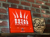 Royal Docks LED Logo Sign