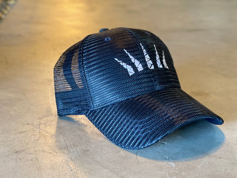 Embroidered Mesh Cap