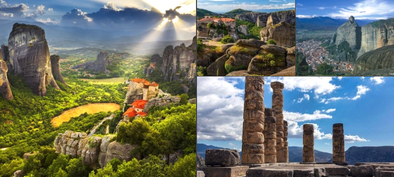 Book 3 Day Trip to Delphi and Meteora from Athens half board Skip the Line - Tripatricks