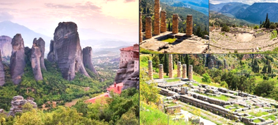 Book a 2-day Tour to Delphi and Meteora from Athens with Half Board and hotel included and Skip the Line - Tripatricks
