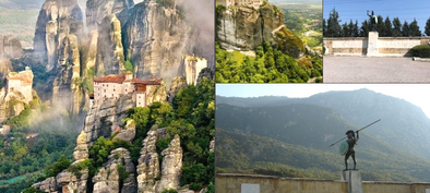 Book this Meteora to Thermopylae from Athens Full Day Tour and visit unique areas of historical attention in Greece, and skip the line - Tripatricks