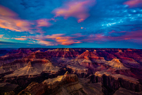 Catch a sunset at the Grand Canyon