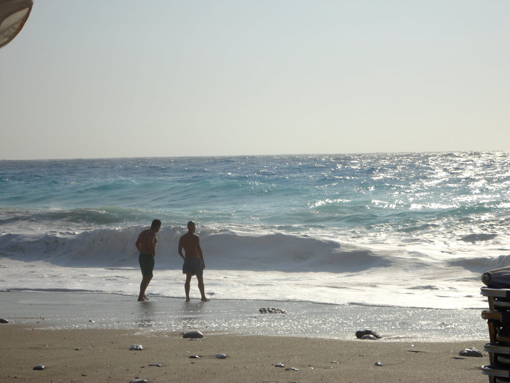 Kathisma Beach Lefkada, Lefkada Tours to Beaches: visit Kathisma beach waves - Tripatricks