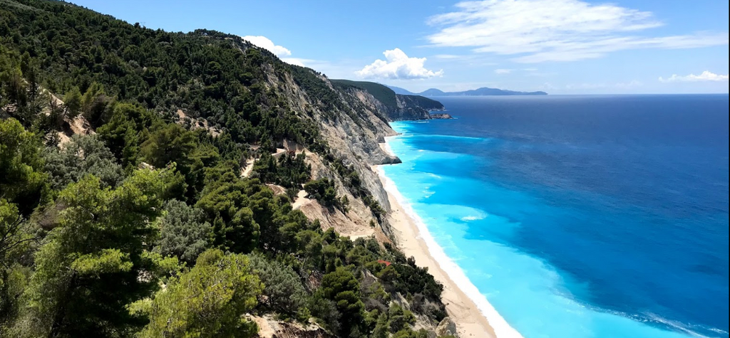 Egremni Beach opens 2019 How to Access Egremni Beach Visit Lefkada beaches 2019 on your holidays to Lefkada island Greece. Plan your holiday to Lefkada 2019 find visit stunning beaches in the Mediterranean Sea - Tripatricks