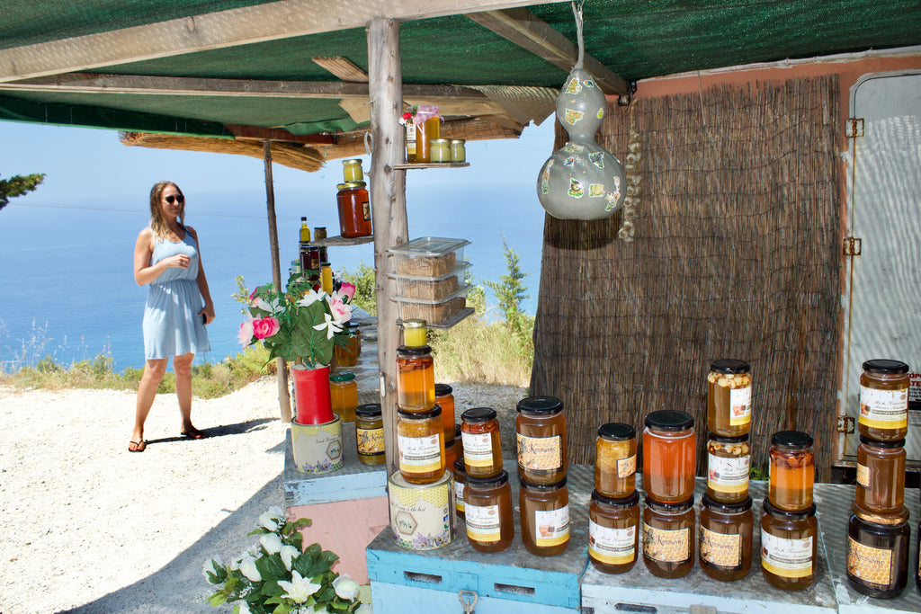Lefkadian local products- Honey- Tripatricks