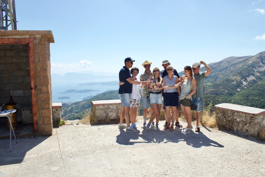 Lefkada Tours: A Tailor-made Private Tour to Lefkada beaches. Photoshooting is on the go all day. The tour stops to all the great spots of your choice with the brilliant infinite view with wine tasting the highest point of Lefkada  - Tripatricks