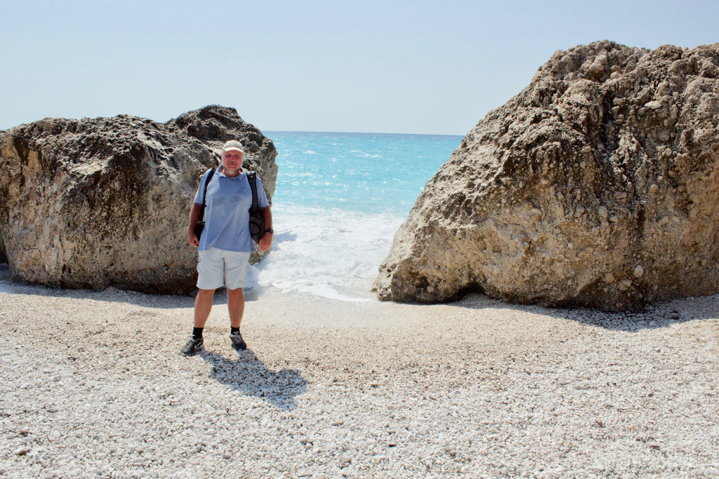 Kavalikefta beach in Lefkada An ideal tailor-made private day tour for your holidays in Lefkada! A unique adventure during our day including traditional places like Karya, Englouvi, the top of the mountain, Kavalikefta, Gyra and Kastro beach - Tripatricks