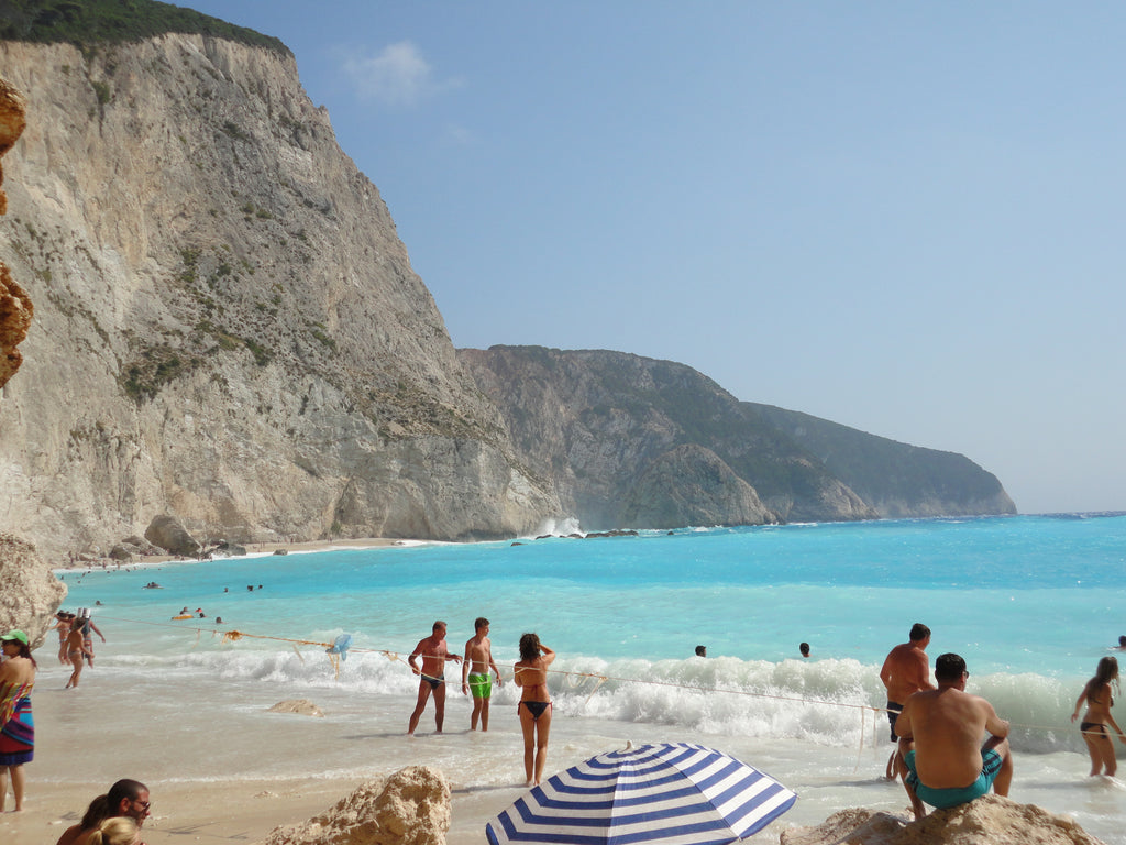 "Holidays in Lefkada, the marvelous ""Blue"" of the Ionian Sea, visit porto Katsiki beach in Lefkada - Tripatricks"