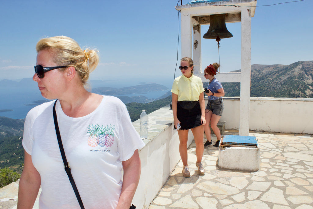 A great tour to the mountain of Lefkada and the villages Profitis Helias Chapel Mountain Lefkada - Tripatricks
