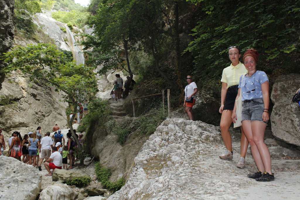 A great tour to the mountain of Lefkada and the villages Nidri Waterfalls Dimosari - Tripatricks