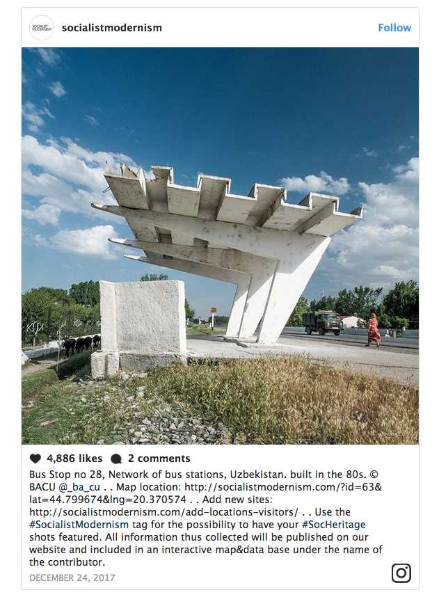 Architectural diamonds of the former Eastern Bloc