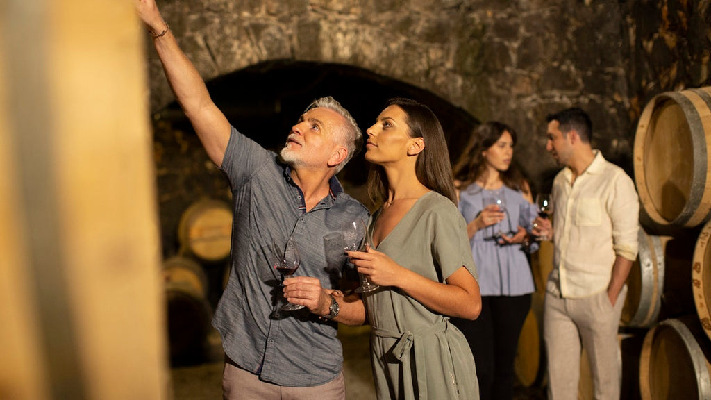 Wine and Art Tasting in Chania, Crete. Meet a world exhibiting local artist and ceramist in his inspiring garden and atelier, combined with sightseeing in Chania's wine region and winery visit. BOOK ONLINE THIS TOUR NOW - TRIPATRICKS