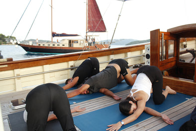 Yoga & Wine Tasting Tailor-made Evening Cruises around Lefkada, tours Lefkada- tripatricks