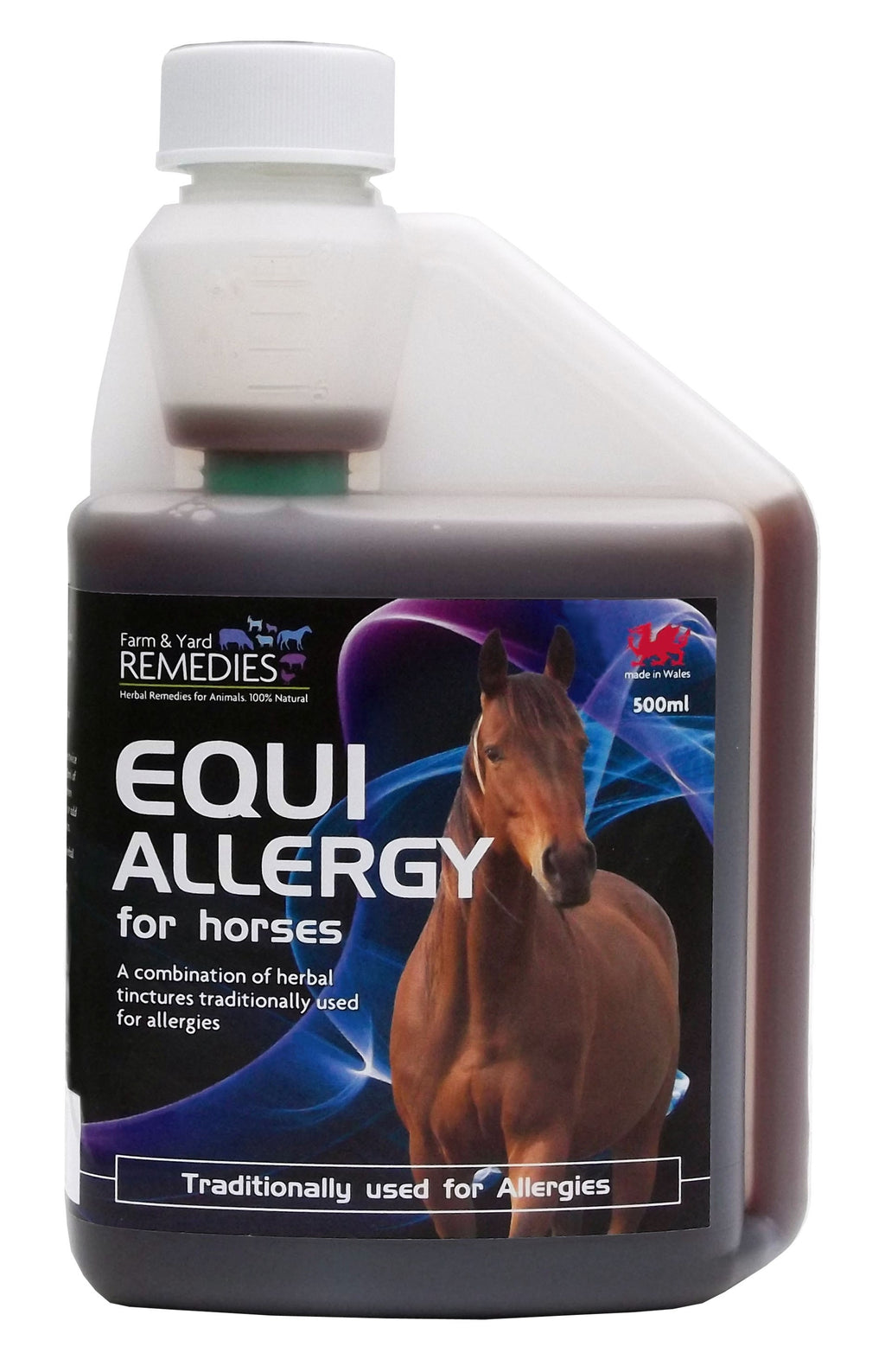 Farm and Yard Remedies Equi Allergy Anti-histamine Anti-inflammatory Herbal Supplement for Horses All Natural