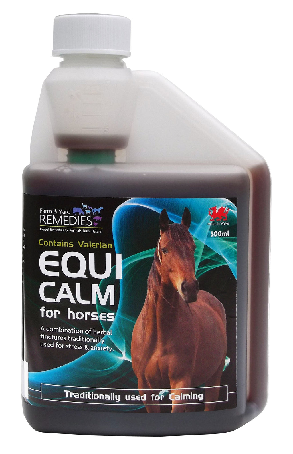 Farm and Yard Remedies Equi Calm Calming Stress Reducing Herbal Supplement for Horses All Natural