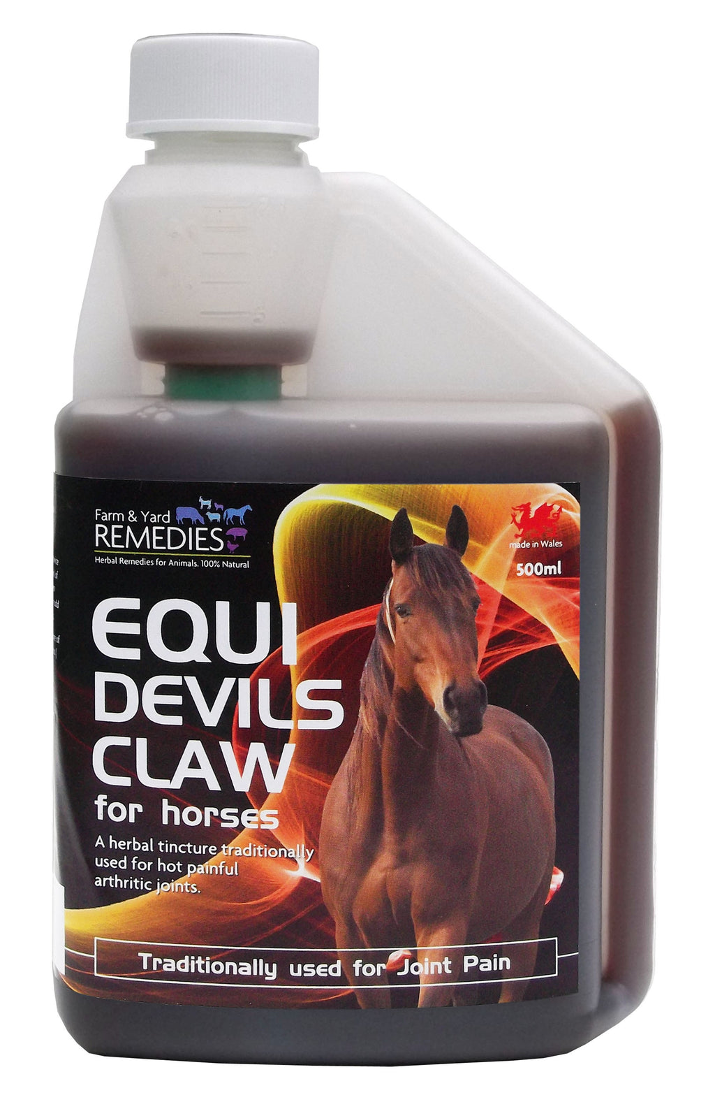 Farm and Yard Remedies Equi Devils Claw Herbal Supplement for Arthritis Pain Relief and Joint Support for Horses All Natural