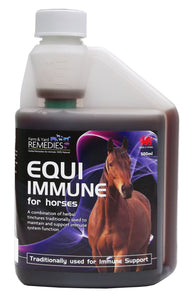 Farm and Yard Remedies Equi Immune Support Anti-viral Anti-fungal Anti-bacterial Herbal Supplement for Horses All Natural