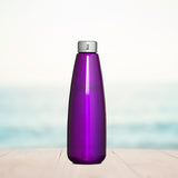 Stainless Steel Fridge Bottle - Purple