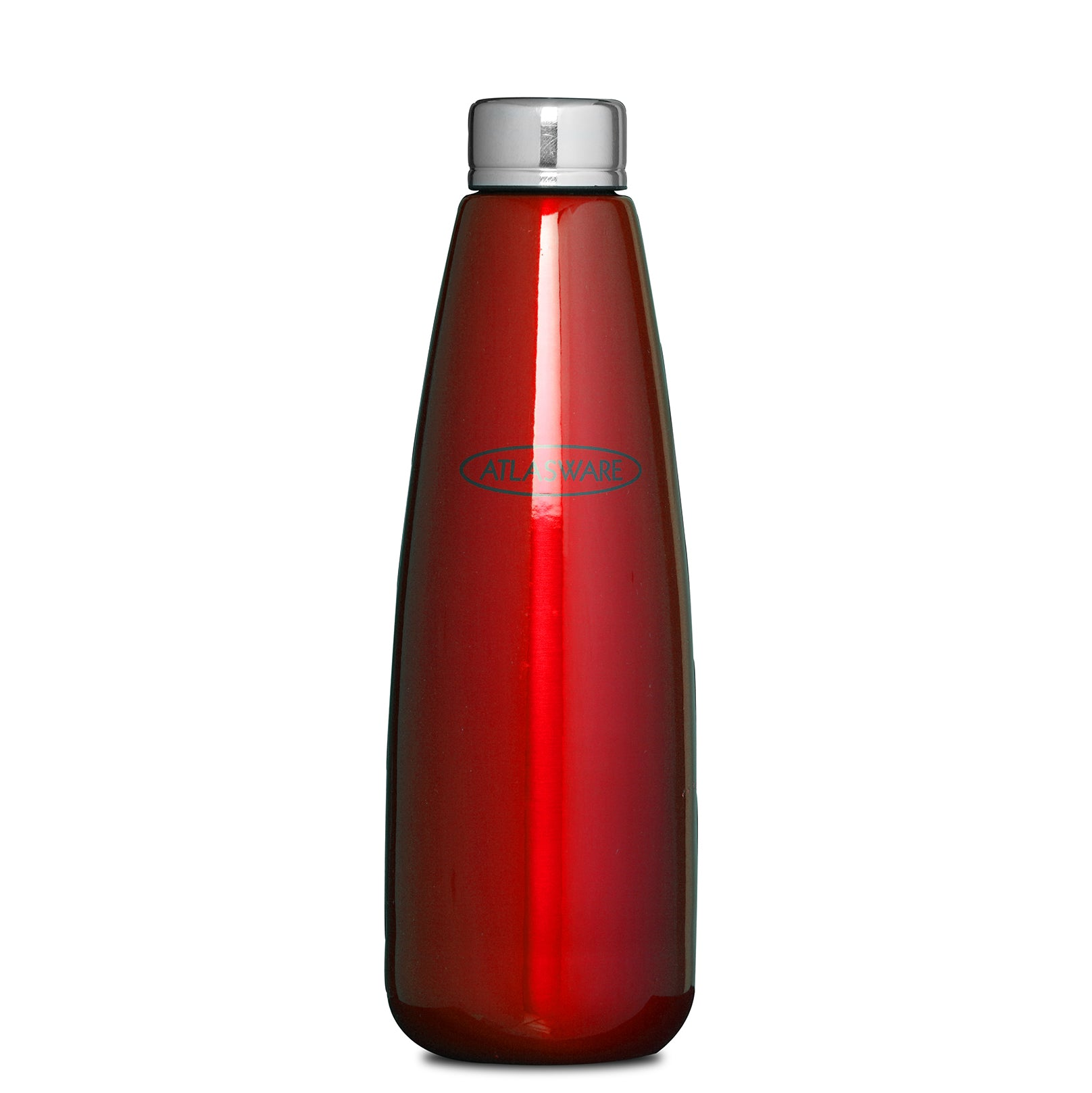 Stainless Steel Fridge Bottle - Red
