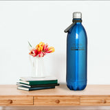 Stainless Steel Vacuum Bottle - Dark Blue