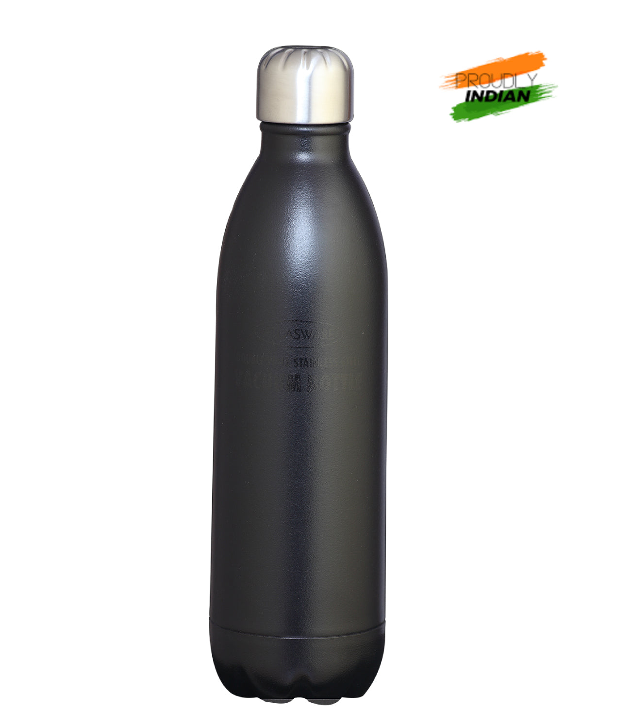 Stainless Steel Vacuum Bottles Glossy Black