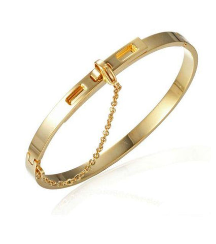 Golden bracelet ISABELLA - Shop Fige