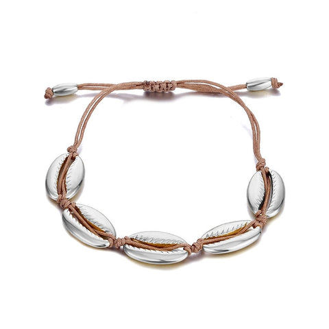 Silver shell bracelet MADISON - Shop Fige