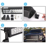 "Senlips M3EP 42"" 240w Flood Spot Combo Beam LED Light Bar"