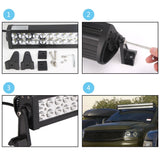 "Senlips M3EP 52"" 300w Flood Spot Combo Beam LED Light Bar"