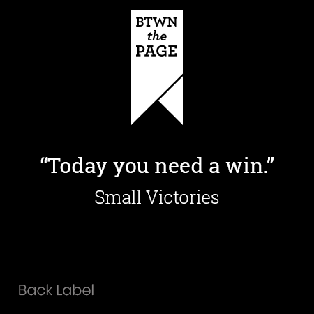 """Small Victories"" Unisex Short Sleeve V-Neck T-Shirt"
