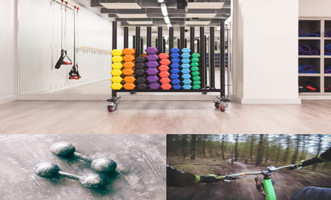 All your GYM equipment to make your body fit.