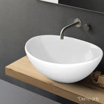Cefito Ceramic Oval Sink Bowl - White
