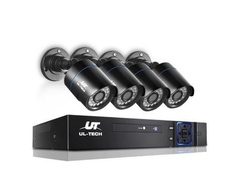 UL Tech 720P 8 Channel HDMI CCTV Security Camera