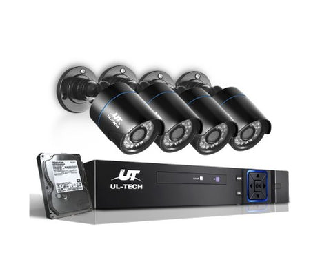 UL Tech 720P 8 Channel HDMI CCTV Security Camera with 1TB Hard Drive