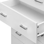 Artiss Tallboy 4 Drawers Storage Cabinet - White