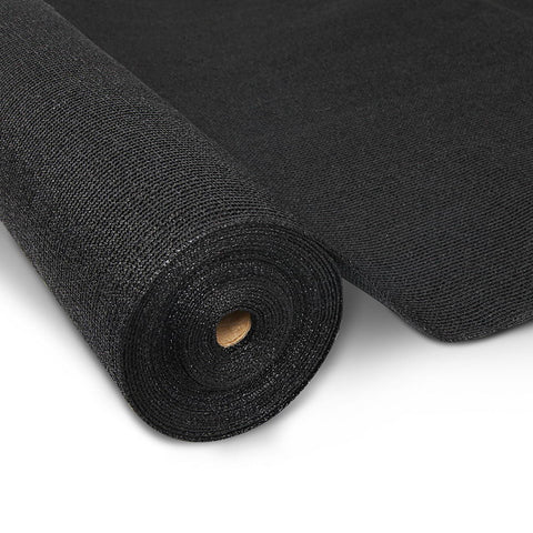 Instahut 3.66 x 20m Shade Sail Cloth - Black